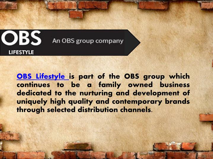 OBS Lifestyle