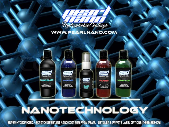 Car coating with nanotechnology pearl nano