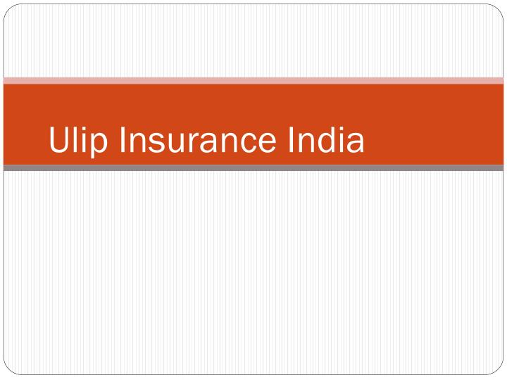 ulip and indian insurance Bajaj allianz life insurance's new ulip goal assure has a zero premium allocation charge and it also reimburses mortality cost on maturity.