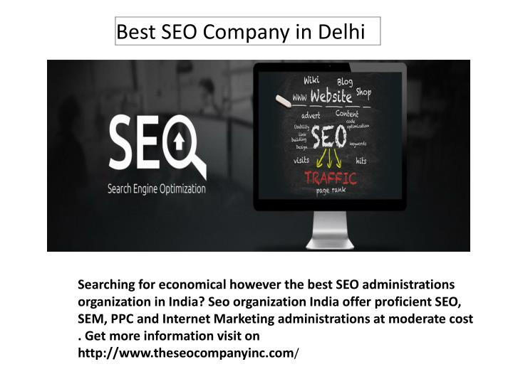 Searching for economical however the best SEO administrations organization in India?