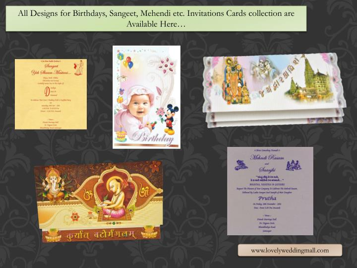 All Designs for Birthdays,