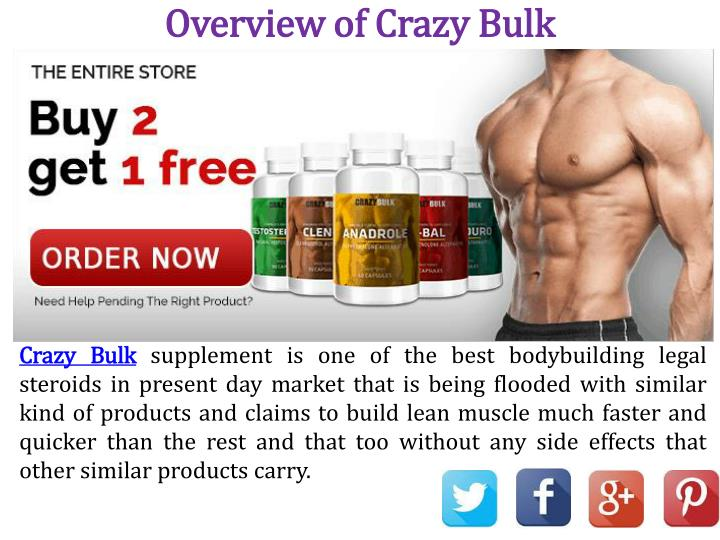 Overview of Crazy Bulk