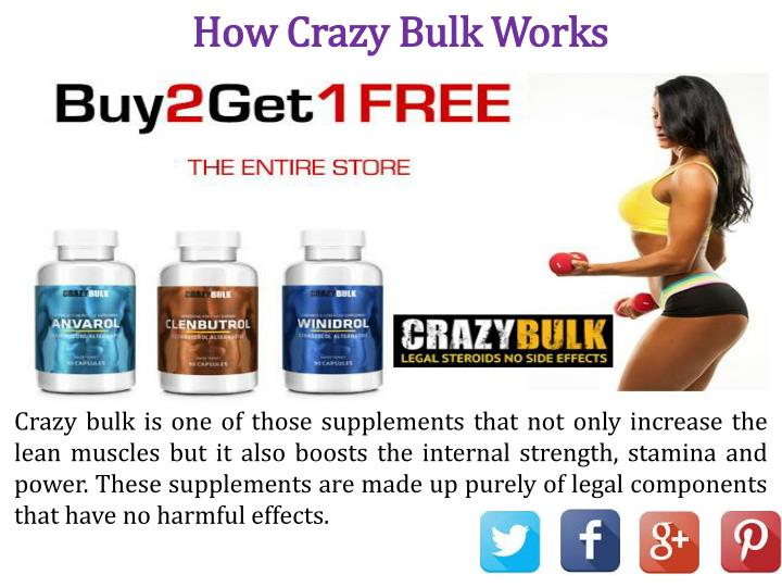 How Crazy Bulk Works