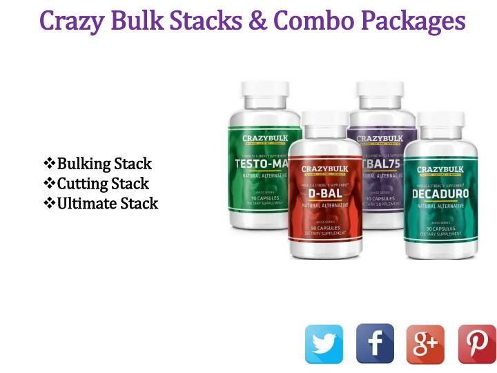 Crazy Bulk Stacks & Combo Packages