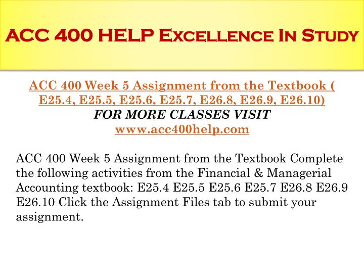 acc400 case study 13 5 Description iscom 305 week 5 case study iscom 305 week 5 case study read case problem 162 at the end of chapter 16: where's my cart write a 1,050- to 1,400-word paper in which you address the following questions.
