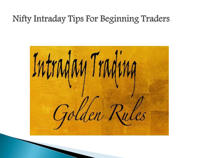 Nifty options trading tips free