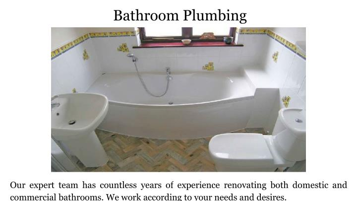 PPT Rose Bay Plumbing Services In Sydney PowerPoint