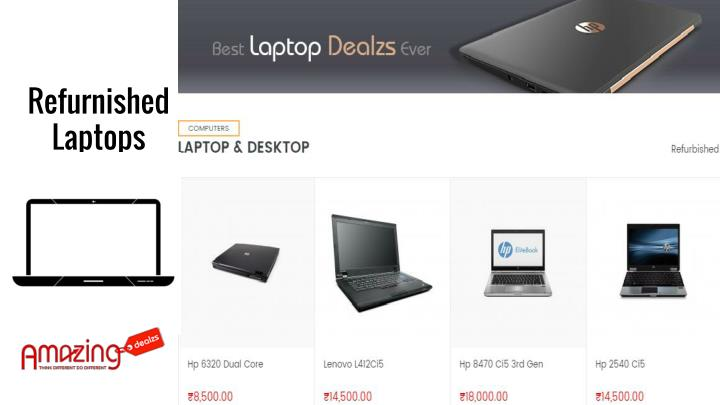 Refurnished Laptops