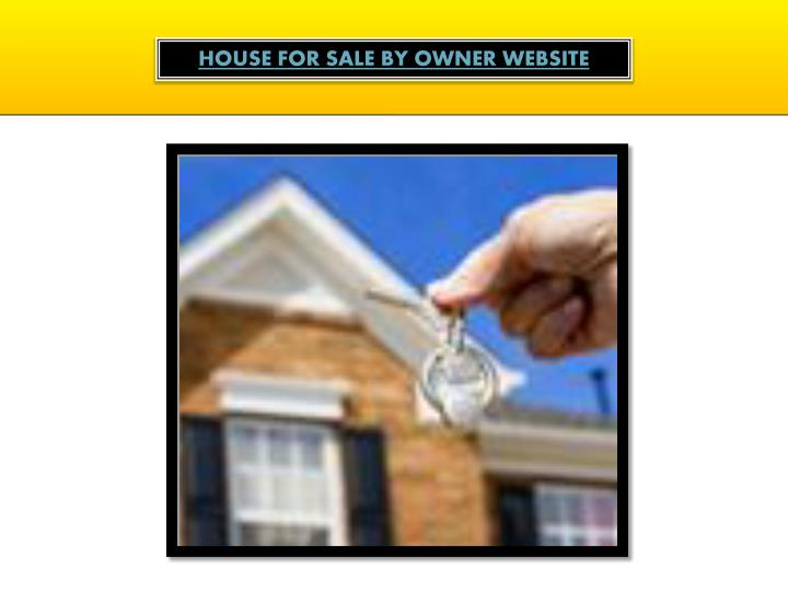House For Sale By Owner Website