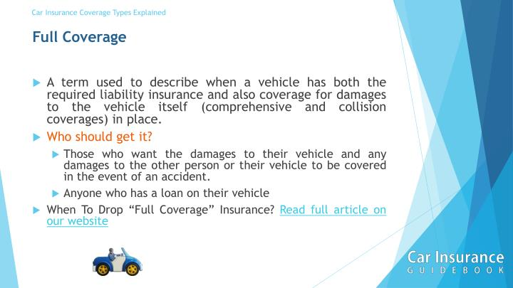 PPT - Car Insurance Coverage Types Explained in a short ...