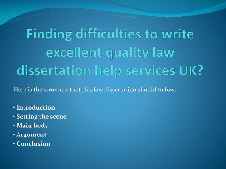 writing excellent dissertations How do you write a great dissertation literature review a review will typically  display all or many of the following characteristics.