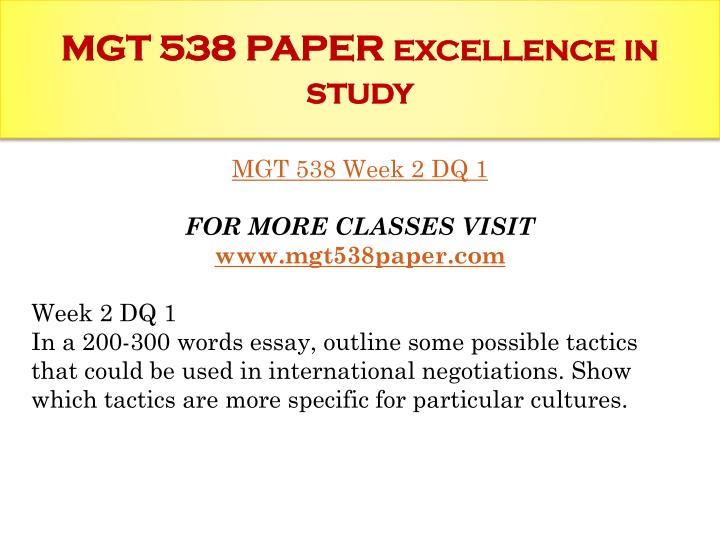 project mgt essay