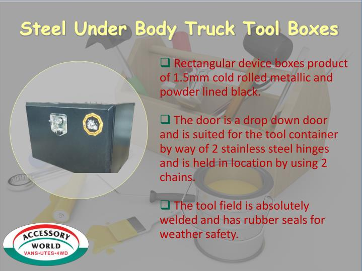 Steel Under Body Truck Tool Boxes
