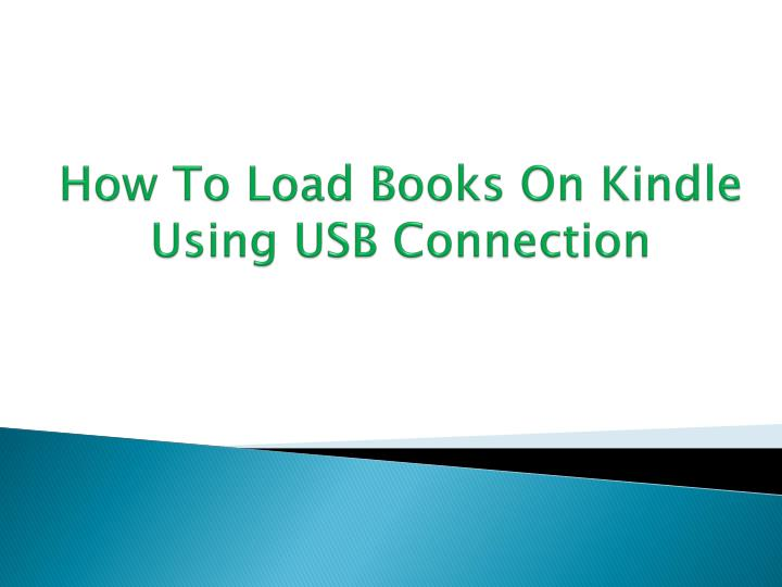 how to download books on kindle