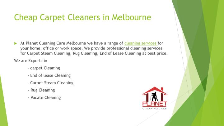 Cheap carpet cleaners in melbourne