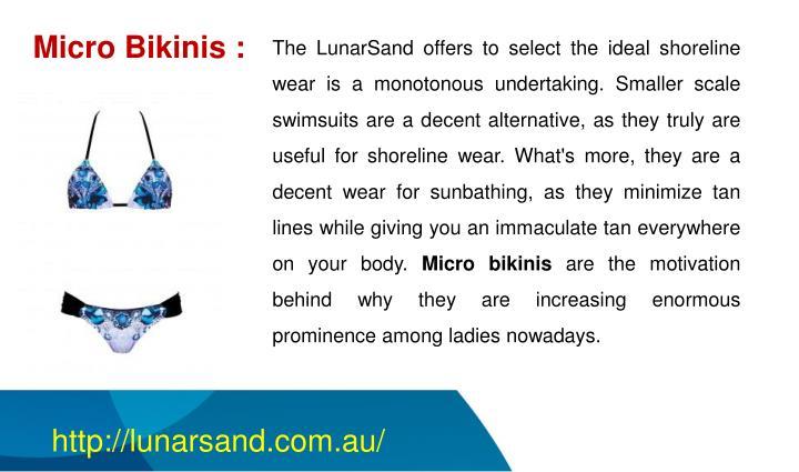 Micro Bikinis :