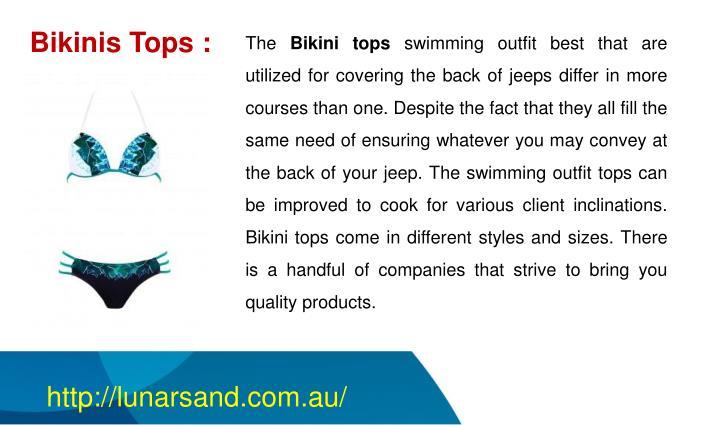Bikinis Tops :
