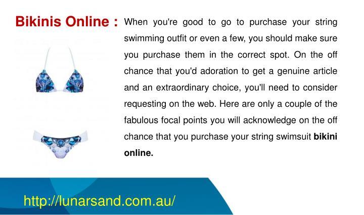 Bikinis Online :