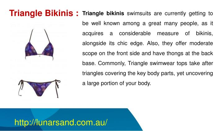 Triangle Bikinis :