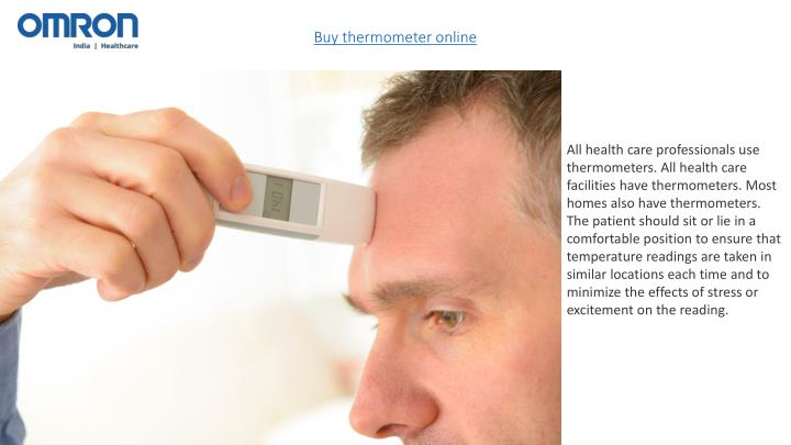 Buy thermometer online