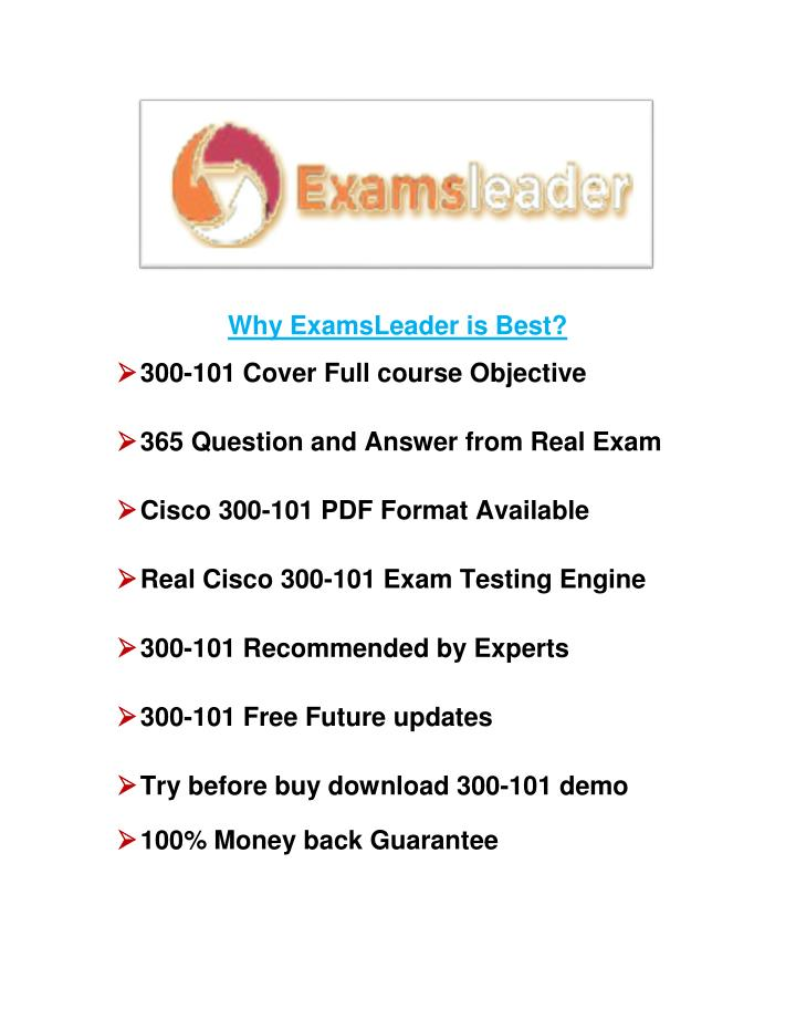 Why ExamsLeader is Best?