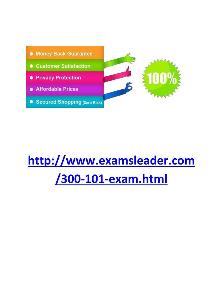 http://www.examsleader.com