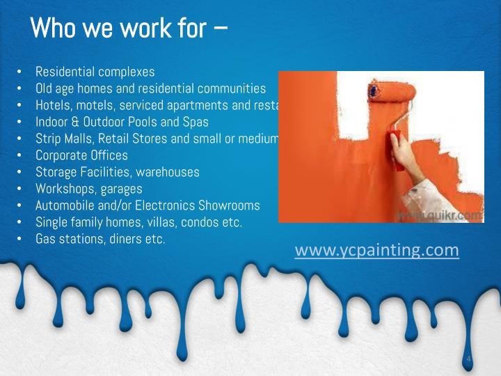 PPT - YC Painting @ is your home painting and property maintenance Services expert in Miami ...