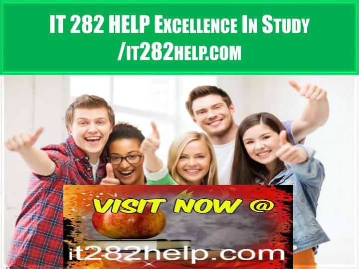 It 282 help excellence in study it282help com