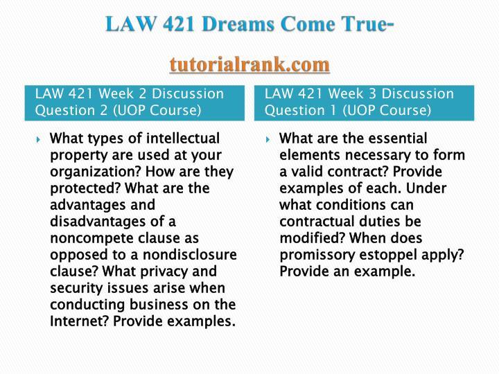 law 421 week 3 tort law paper Irac week 2 paper university of phoenix business law law 531 - spring  2016  business tort liability _ stacey davis _ week 3docx university of  phoenix.