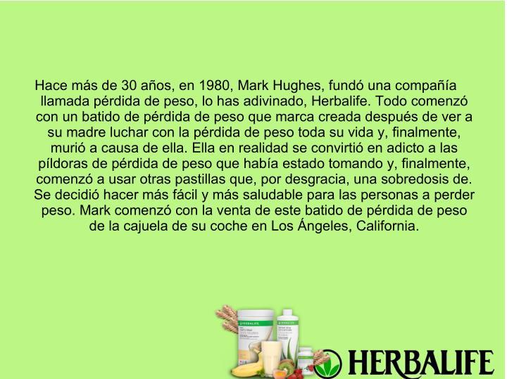 Hace más de 30 años, en 1980, Mark Hughes, fundó una compañía