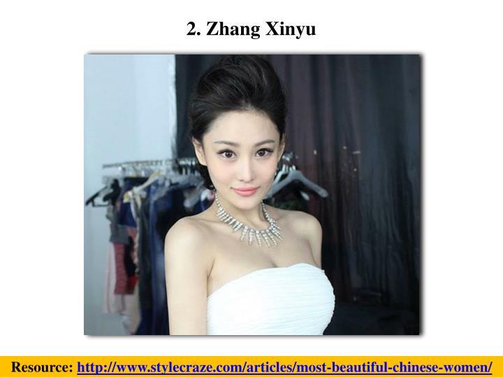 2. Zhang Xinyu