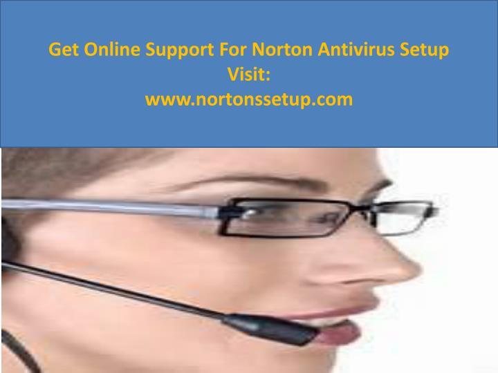 Get Online Support For Norton Antivirus Setup