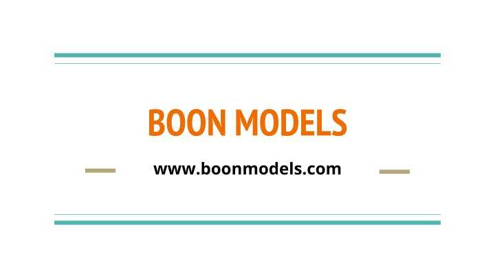 Boon models
