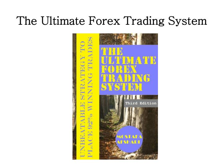 Forex trading strategies ppt