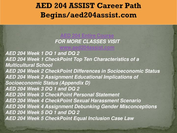 appendix d educational implications of socioeconomic status matrix aed 204 week two