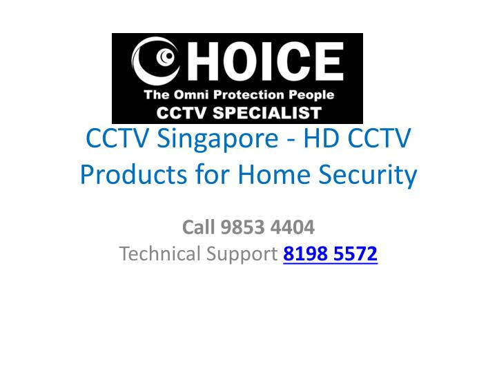 CCTV Singapore - HD CCTV Products for Home Security