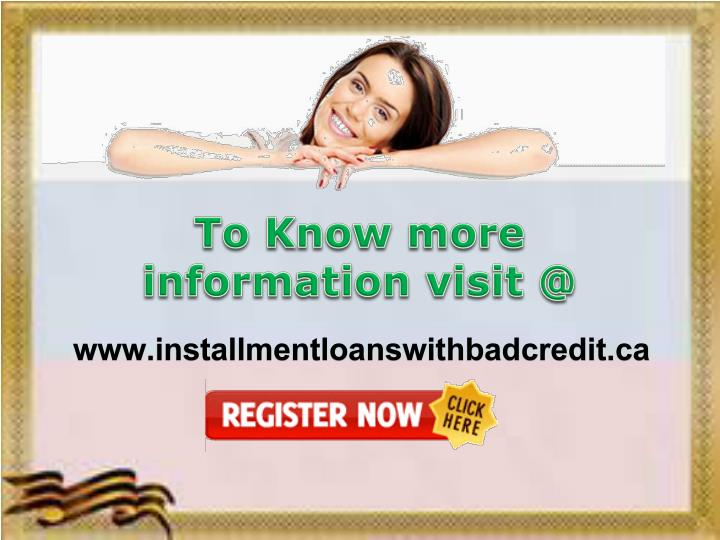 To Know more information visit @