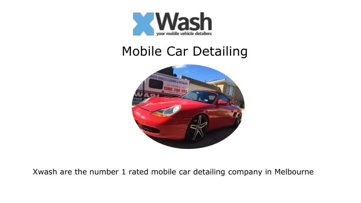 Mobile Car Detailing Melbourne Western Suburbs