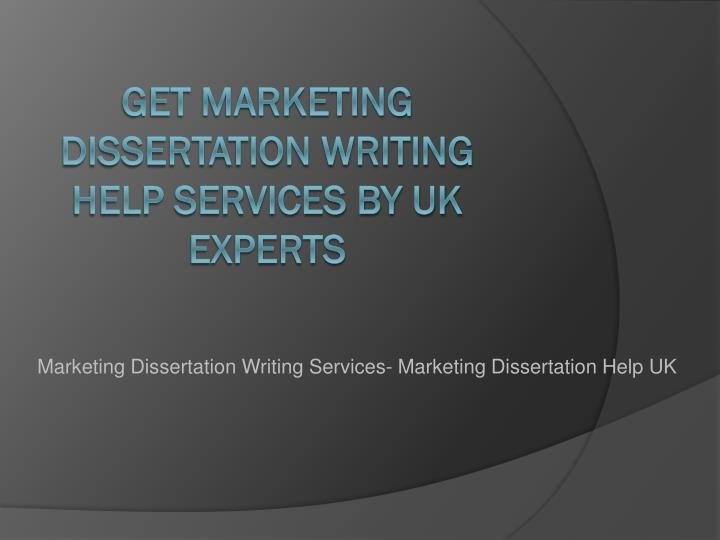 Dissertation services in uk guidance