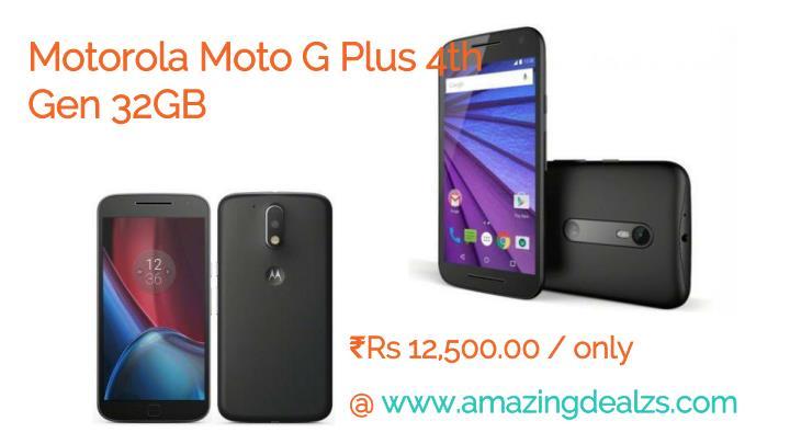 Motorola Moto G Plus 4th Gen 32GB