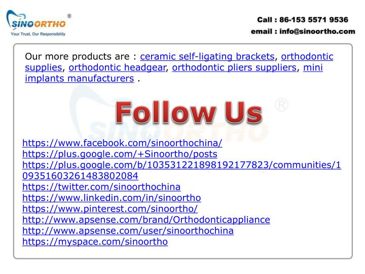 Our more products are :