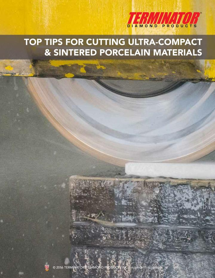PPT - Top Tips For Cutting Ultra-Compact & Sintered