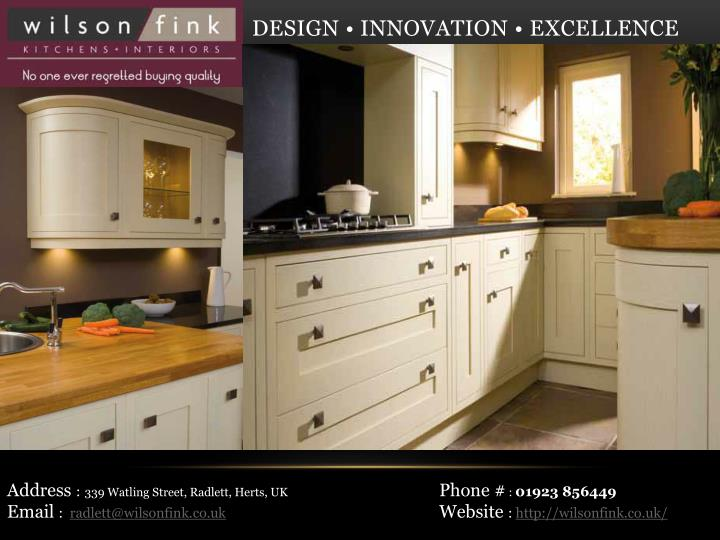 Ppt German Kitchen Company London Wilson Fink