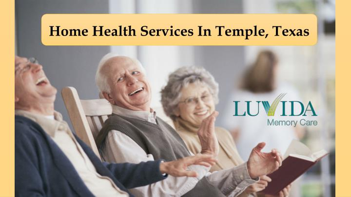 Home Health Services In Temple, Texas