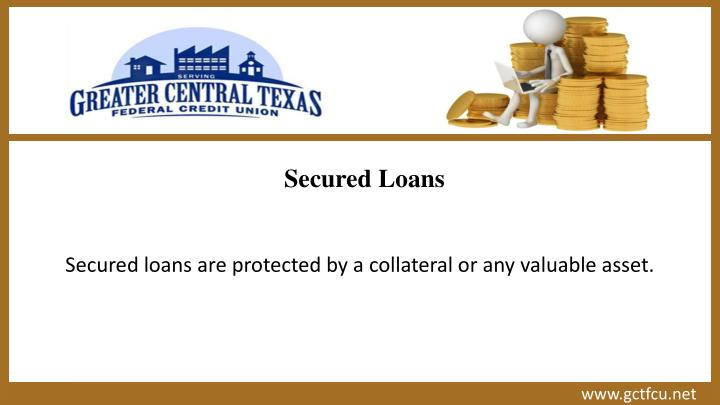 unsecured loans these loans do not require any collateral or any asset ...