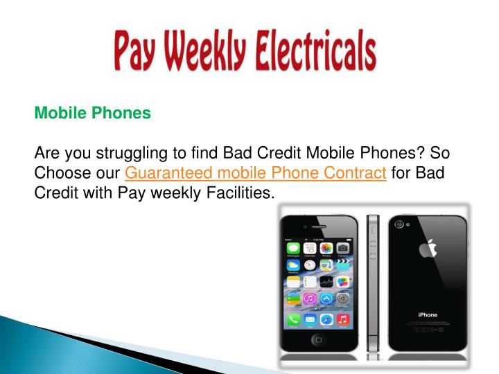 Ppt Guaranteed Mobile Phones Contract For Bad Credit