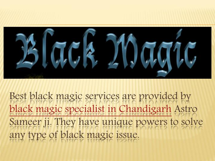 Best black magic services are provided by