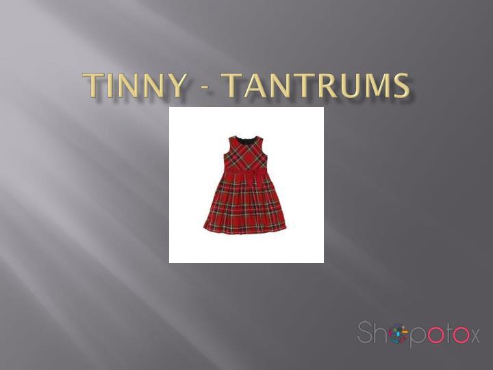 TINNY - TANTRUMS