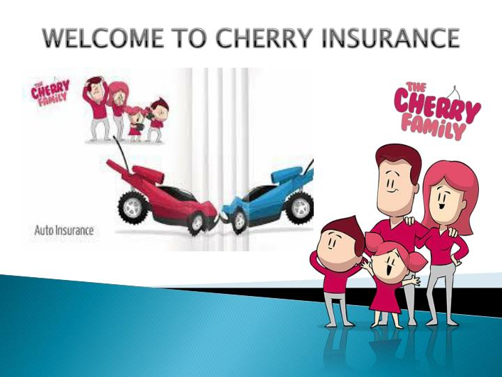 Welcome to cherry insurance