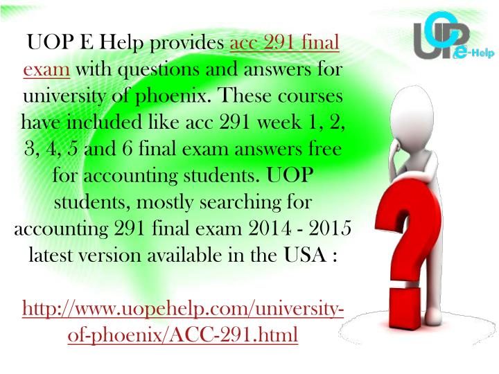 ACC 291 Week 4: Pele Company E11-7 Solution